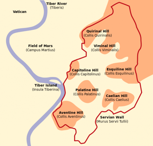 The Seven Hills of Rome: What Are They and What Can You See?