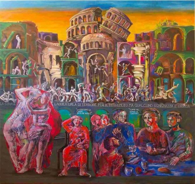 """Dario Fo """"Earthquake in L'Aquila"""""""