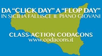Da click day a click Codacons. 250 giovani chiedono i danni alla Regione