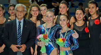 Conclusi ieri sera a Ragusa i campionati del mediterraneo di ginnastica artistica