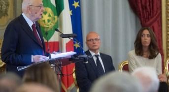 Cordoglio del Presidente Napolitano per la morte del Comandante dei Vigili del Fuoco di Campodazzo, Mayr