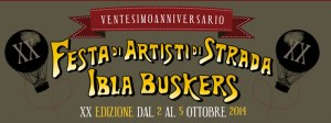 logo ibla buskers 20 anni