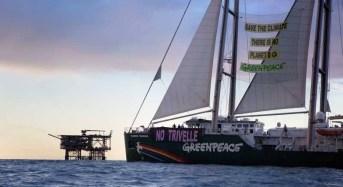 Licata. Greenpeace: su Rainbow Warrior primo coordinamento dei comuni siciliani contro le trivellazioni in mare
