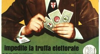 Legge truffa, italicum e rispetto della volontà degli elettori