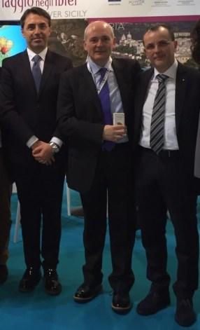 Occhipinti, Alborante e Dibennardo alla Bit di Milano