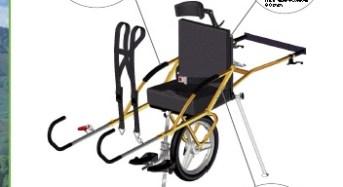 """MoVIS, una carrozzina per percorrere sentieri impervi. """"Escursioni per disabili?  Con la carrozzina joelette adesso si può!"""""""