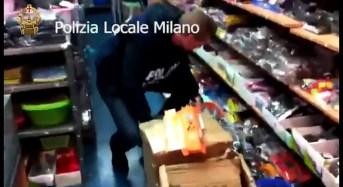 Milano, Polizia locale. Sequestrati 600 mila accessori per la telefonia. Sanzioni per 3 milioni di euro