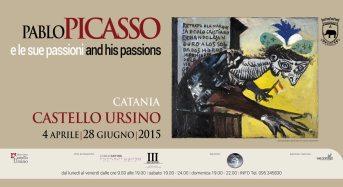 Picasso e le sue passioni. Catania, Castello Ursino – 4 aprile/8 giugno 2015