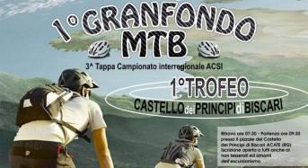 """Acate. Sport Racing Bike.  Gran Fondo Mtb: """"Primo Trofeo Castello dei Principi di Biscari"""". Domenica 19 aprile, ore 8,30."""