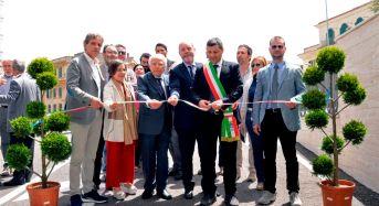 """Ragusa. Inaugurato stamani il """"Parcheggio Stazione"""" gestito da Sisosta."""