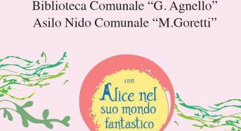 """Canicatti Bagni. """"Alice nel suo mondo fantastico"""", domenica 7 giugno festa di chiusura delle attività NpL all'Asilo Nido comunale"""