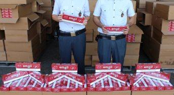Sequestrate 10 tonnellate di sigarette di contrabbando al porto di Gioia Tauro