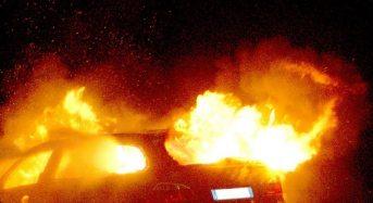 Niscemi. Bruciata l'auto ad un commerciante