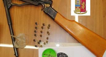 Gela. Sequestrata una carabina e munizioni calibro 4.5 e munizioni 7.65, per pistola, illegalmente detenute
