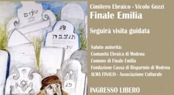Finale Emilia. Riapre domenica 18 il Cimitero Ebraico