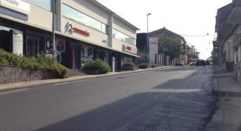 Emergenza maltempo a Giarre: si ripristina manto stradale su principali percorsi viari della città
