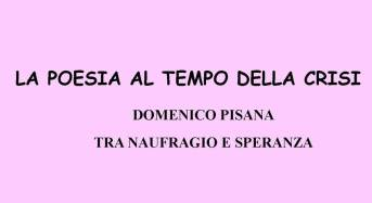 """Trapani. Presenta la raccolta poetica """"Tra naufragio e speranza"""" di Domenico Pisana"""
