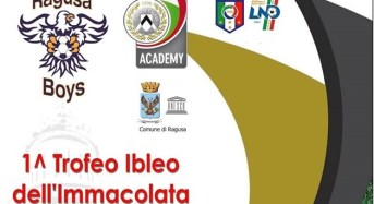 """ASD Scuola Calcio Ragusa Boys, al via il """"Primo trofeo ibleo dell'Immacolata"""""""
