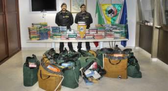 Maxi sequestro di 540 KG di cocaina purissima al porto di Gioia Tauro