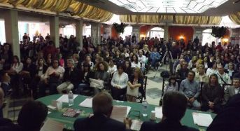 Bagno di folla per la convention del candidato sindaco Aiello