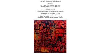 Apertura mostra dell'artista Giulia Trettel al Parco Urbano di Lavis