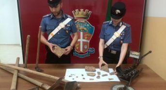 Tombaroli a Capocolonna: Due arresti dei Carabinieri