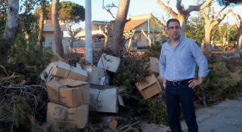 """Piazzetta Sicilia a Caucana, il consigliere Pernice: """"Una vera e propria devastazione"""""""