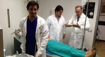 Ragusa. Noduli tiroidei, alla Clinica del Mediteranneo primo intervento PLA (ablazione laser percutanea)