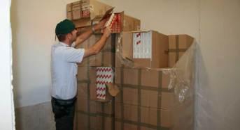 Caserta. Sequestrate 5 tonnellate di sigarette di contrabbando e arrestati 14 responsabili