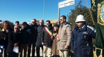 Ragusa, la via 516 intitolata al prof. Alfonso Gebbia