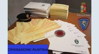 """Operazione Austria"": Centinaia di documenti falsi sequestrati a Merano"