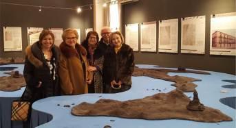 La governatrice dell'Inner Wheel del distretto 211 in visita al museo del cioccolato di Modica