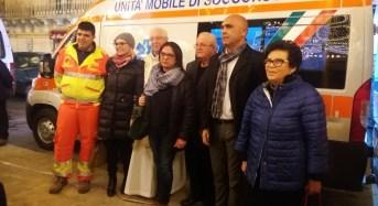 AVS Santa Croce Camerina, benedetta la nuova ambulanza intitolata a Tano Rizzo