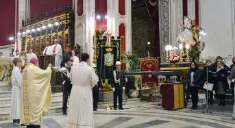 Ieri sera al duomo di Ragusa la celebrazione della solennità liturgica di San Giorgio