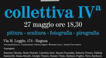 Amedeo Fusco inaugura Collettiva IV a Ragusa