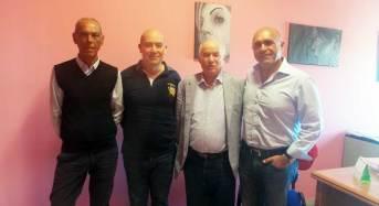Tino Fontana, l'imprenditore che ha creato dal nulla molti locali da Mosca a New York, in visita all'istituto Alberghiero Europa Cinque Stelle