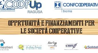 """Ragusa, seminario su """"Opportunità e finanziamenti per le società cooperative"""""""