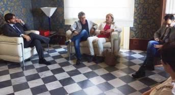 Vittoria. Visita istituzionale dell'assessore regionale alle Autonomie Locali Luisa Lantieri a Palazzo Iacono