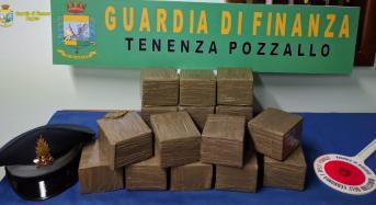 Operazione antidroga: Arrestato un italiano diretto a Malta con 15 kg di sostanze stupefacenti