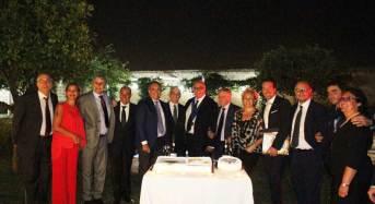 """Passaggio di consegne al Rotary Club Caserta """"Luigi Vanvitelli"""": Il nuovo presidente è Marco Petrucci."""