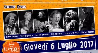 """Giovedì 6 luglio Le stelle del """"Napoli Music world project"""" suonano in riva al mare di Salerno"""
