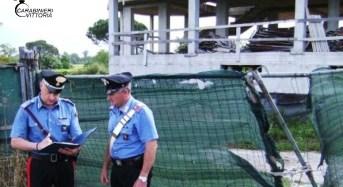 Acate. Cantieri edili, controlli dei carabinieri: Scatta una denuncia e la sospensione dell'attività imprenditoriale per una ditta