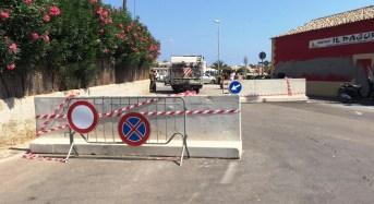Misure antiterrorismo, barriere stradali a Marzamemi