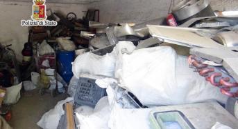 """Operazione """"Oro rosso"""" nel capoluogo: Sequestrata discarica abusiva e diverse tonnellate di materiale ferroso e matasse di cavi elettrici di rame, tre denunciati"""