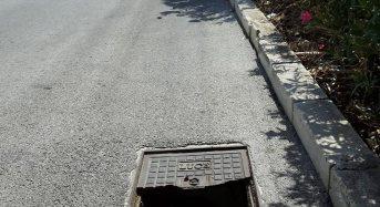 """Marina di Ragusa, Marino: """"Tombino pericoloso in via caboto. Urgono pronti rimedi per garantire piena sicurezza viaria"""""""