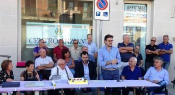 Vittoria. La giunta il presidente del consiglio festeggiano il centenario del signor Danubio