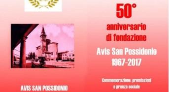"""San Possidonio (Mo). """"50 anni di Avis""""."""