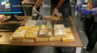 Roma. 'Ndrangheta: Traffico internazionale di stupefacenti tra Italia e America Latina
