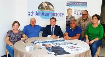 Regionali, il movimento civico #chiAmasantacroce sostiene la candidatura del sen. Giovanni Mauro – GUARDA IL VIDEO