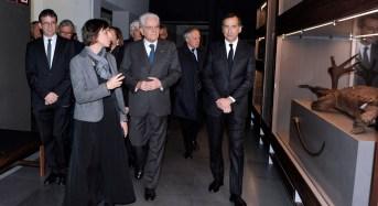 Milano, il Presidente Mattarella in visita al Museo delle Culture
